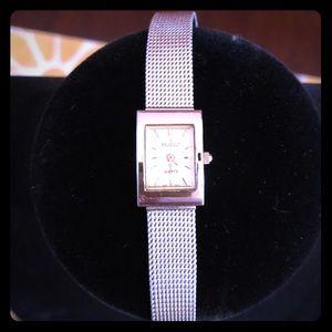 Vintage Sterling Silver Peugeot Women's Watch